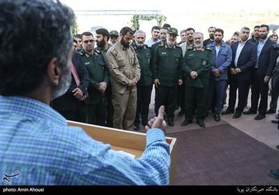 افتتاح مرکز خیاطی شهید زیادیان توسط سردار سلامی فرمانده کل سپاه