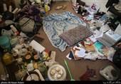 فیلم و تصاویر/ پلمب منازل مجردی که بعضاً پاتوق بیش از 50 نفر بود