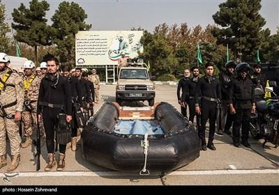 غواصان نمونه یگان ویژه فاتحین سپاه محمد رسول الله ص تهران بزرگ
