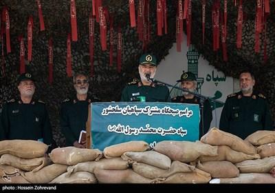 سخنرانی سرلشکر حسین سلامی فرمانده کل سپاه پاسداران انقلاب اسلامی