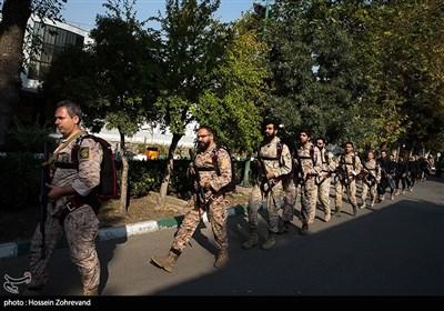 چتربازان نمونه یگان ویژه فاتحین سپاه محمد رسول الله ص تهران بزرگ