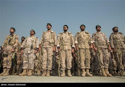 حضور فرمانده کل سپاه در جمع بسیجیان و سپاهیان سپاه حضرت محمد رسول الله تهران بزرگ