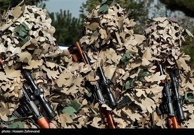 تک تیراندازان یگان ویژه فاتحین سپاه محمد رسول الله ص تهران بزرگ