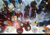 کشف 1000 لیتر مشروبالکلی و 2 تخته فرش 200 میلیونی در شمال تهران + تصاویر