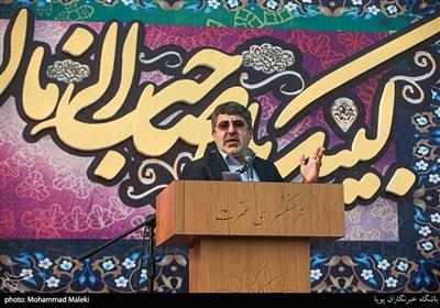قرائت زیارت آل یاسین توسط محمدرضا طاهری در اجتماع بزرگ مردمی بیعت با امام عصر(عج)
