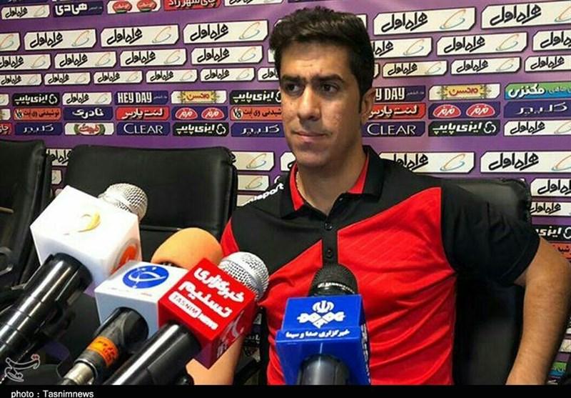 بوشهر| کریمیان: به دنبال سه امتیاز بازی مقابل گل گهر هستیم