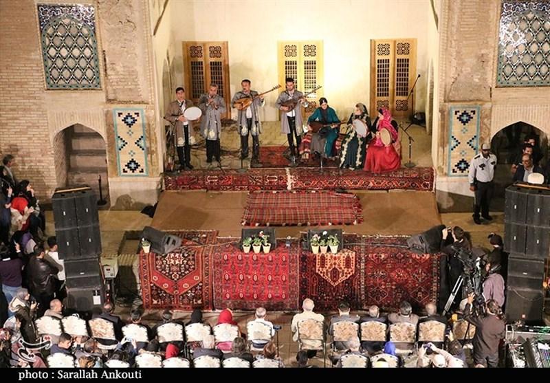 افتتاحیه جشنواره موسیقی نواحی ایران در کرمان به روایت تصویر