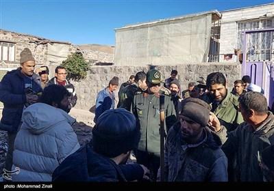 خسارات زلزله در میانه - آذربایجان شرقی