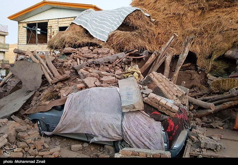 آخرین اخبار زلزله میانه| ۵ کشته و ۵۱۸ مصدوم تاکنون/ اسامی فوت شدگان اعلام شد,