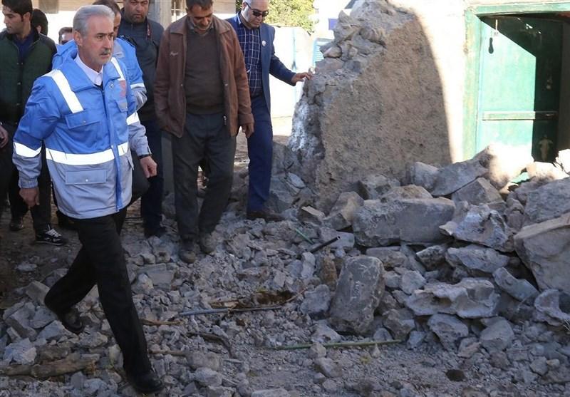 استاندار آذربایجان شرقی: بیش از 1000 واحد مسکونی در زلزله میانه آسیب دیدند