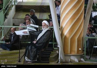 حجت الاسلام محسن قرائتی در نماز جمعه تهران