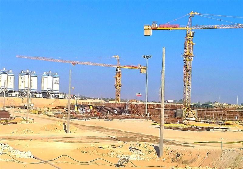 عملیات بتنریزی دومین راکتور هستهای در بوشهر آغاز میشود
