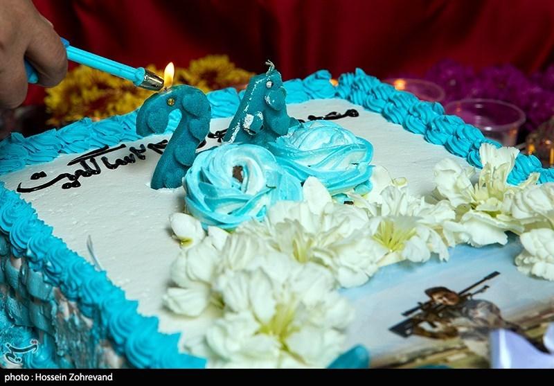 چهارمین سالگرد شهادت و جشن تولد 24 سالی شهید مدافع حرم سید مصطفی موسوی
