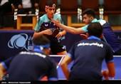 لیگ برتر تنیس روی میز| برد یکطرفه پتروشیمی و دانشگاه آزاد در پایان مرحله اول