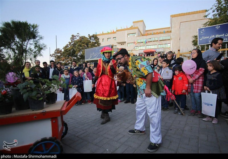 همدان| دومین روز از جشنواره بین المللی تئاتر کودک و نوجوان به روایت تصویر