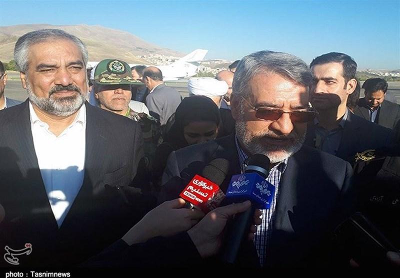 وزیر کشور در سنندج: سند توسعه کردستان پیگیری میشود