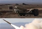 رزمایش پدافند هوایی| مقابله با پهپاد و موشک کروز توسط سامانه موشکی مرصاد