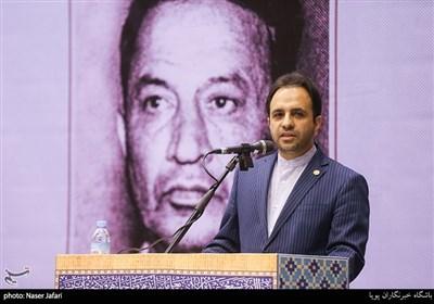 سخنرانی علی محمد سعادتی شهردار منطقه 12 در یادواره شهید طیب حاج رضایی
