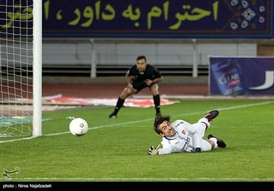 سیدمهدی رحمتی دروازبان تیم فوتبال شهر خودرو مشهد