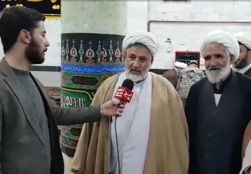 امام جمعه میانه: در سرمای میانه امکان اسکان چند روزه در چادر نیست + فیلم