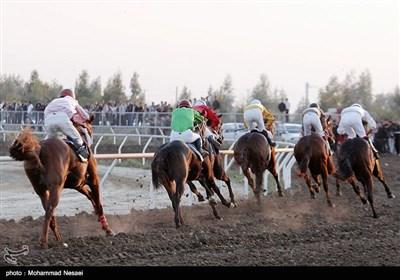 مسابقات قهرمانی کورس اسب دوانی-آققلا