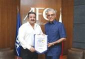 دیدار رئیس AFC با رئیس فدراسیون فوتبال کویت