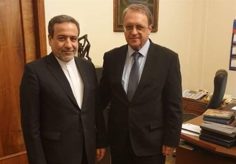 Iranian, Russian Diplomats Discuss Regional Issues