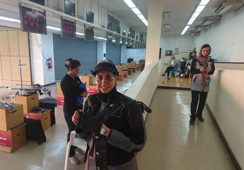 تیراندازی قهرمانی آسیا|فاطمه کرمزاده در رده پنجم قرار گرفت