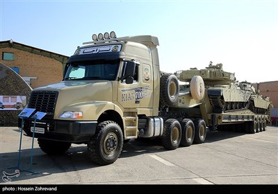 خودروی تانکبر «کیان700» ساخت فرماندهی تولید و بهینهسازی شهید زرهرن نیروی زمینی ارتش