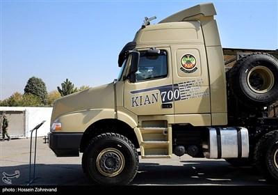 خودرو تانکبر «کیان700» ساخت فرماندهی تولید و بهینهسازی شهید زرهرن نیروی زمینی ارتش