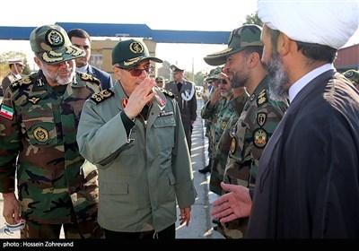 سان دیدن سردار سرلشکر پاسدار محمد باقری رئیس ستاد کل نیروهای مسلح از نیروهای مستقر