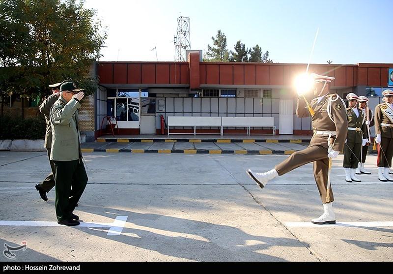 بازدید سرلشکر باقری از مرکز بهینهسازی و نوسازی شهید زرهرن