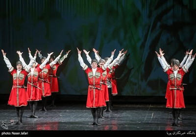 افتتاحیه هفته فرهنگی روسیه در ایران