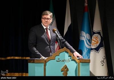 سخنرانی جانشین وزیر فرهنگ فدراسیون روسیه در ایران در مراسم افتتاحیه هفته فرهنگی روسیه در ایران