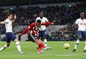 لیگ برتر انگلیس| VAR هم مانع توقف تاتنهام مقابل شفیلد نشد/ مردان پوچتینو در نیمه پایین جدول ماندند