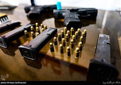 انهدام باند فروش سلاح در تهران