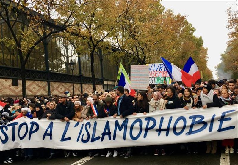 Thousands March against Islamophobia in Paris (+Video)