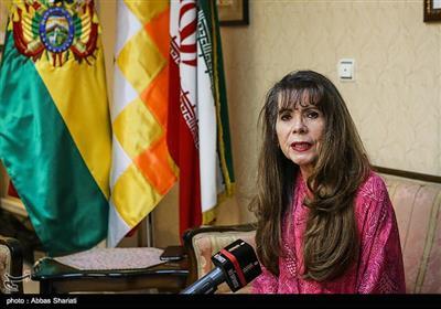 رومینا راموس سفیر بولیوی در تهران