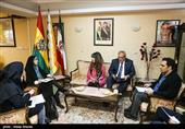 نشست خبری سفیر بولیوی
