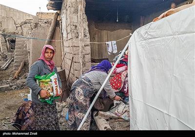 روستاهای زلزله زده شهرستان میانه