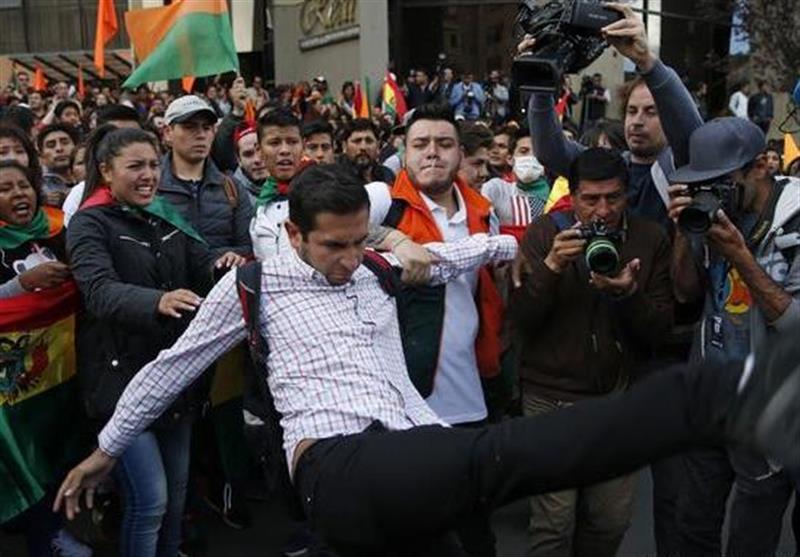 کشته شدن 5 نفر در اعتراضات بولیوی