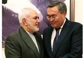 گفتگوی ظریف با وزیر خارجه قزاقستان