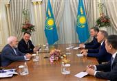 Iranian Top Diplomat, Kazakhstan's Nazarbayev Meet in Nur-Sultan
