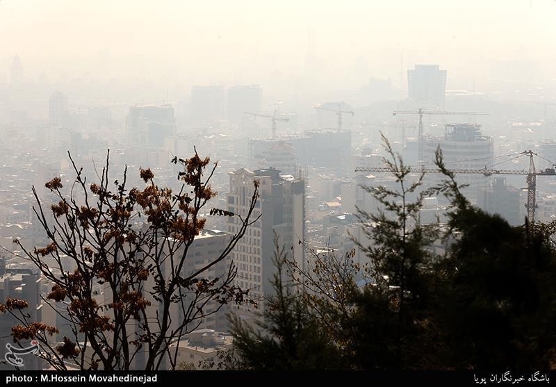 تهران| شاخص آلودگی هوا به 161 رسید؛ ناسالم برای همه!