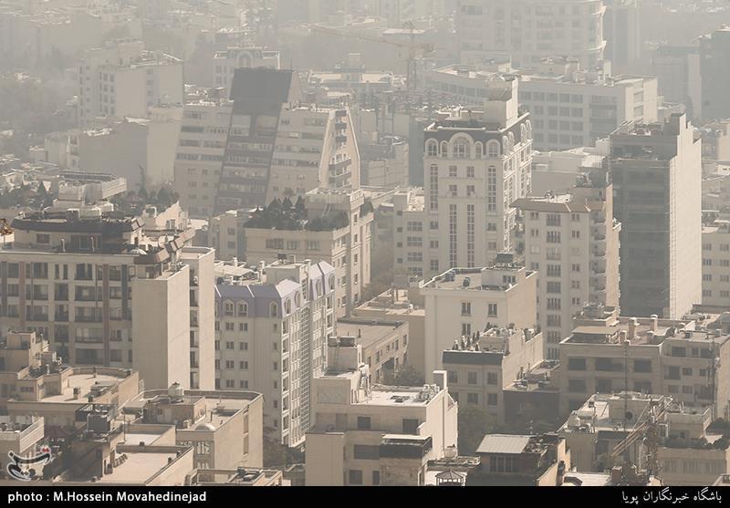 استمرار آلودگی هوای تهران تا صبح پنجشنبه / مراجعه 3 هزار نفر به اورژانس