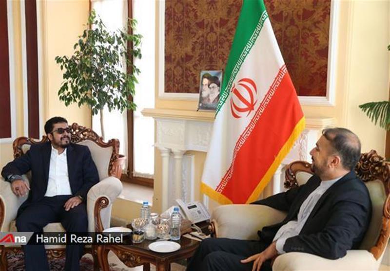 مباحثات ایرانیة - یمنیة تتناول تطورات الاوضاع فی المنطقة