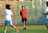 درخواست کاتانتس از بازیکنان عراق پس از شکست ایران