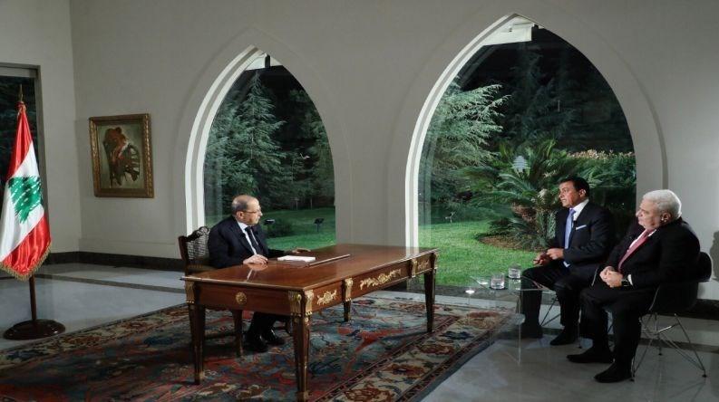عون: هیچ کس نمیتواند مرا مجبور به حذف حزبالله از دولت کند