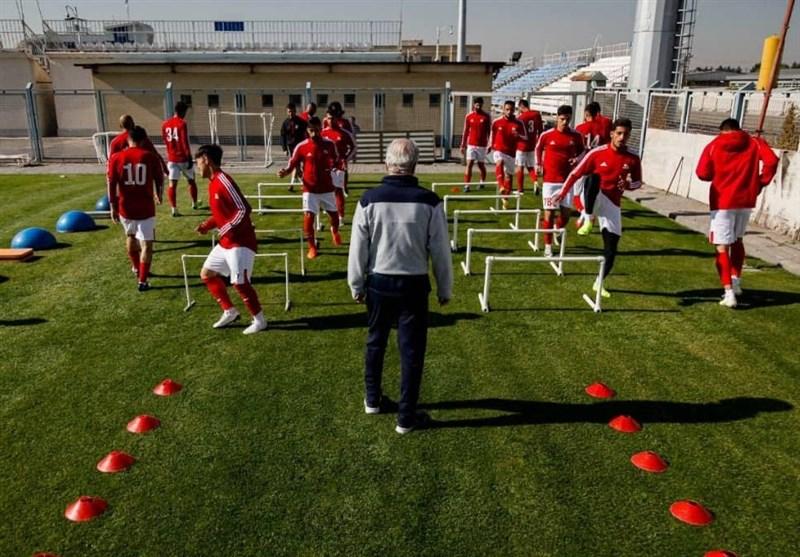برگزاری تمرین تراکتور با حضور 16 بازیکن؛ غیبت مازولا و میمبلا