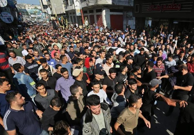 26 شهیدًا حصیلة العدوان الإسرائیلی على غزة حتى اللحظة